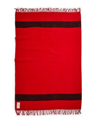 HudsonS Bay Company Caribou Throw   Scarlet-SCARLET-One Size