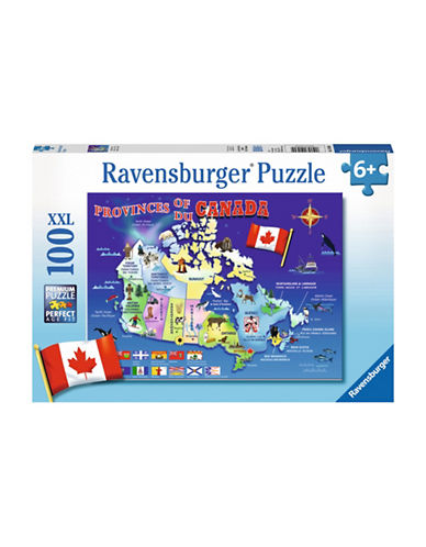 Ravensburger Provinces of Canada-MULTI-COLOURED-One Size