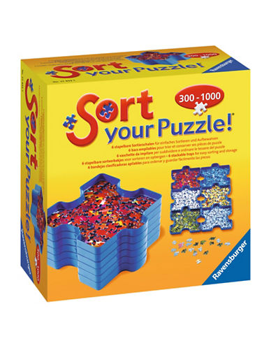 Ravensburger Sort Your Puzzle Stackable Trays-MULTI-One Size