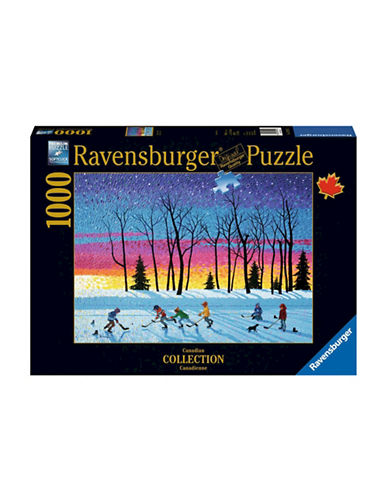 Ravensburger Sundown and Stars 1000-Piece Hockey Puzzle-MULTI-One Size