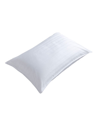 Distinctly Home Gel Fibre Firm Support Pillow-WHITE-Queen