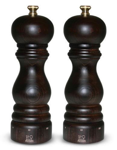 Peugeot Peugeot Paris uSelect Chocolate Salt and Pepper Mill Set-BROWN-One Size