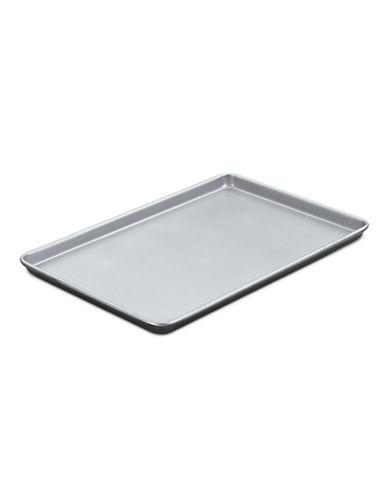 Cuisinart Baking Sheet Jelly Roll Pan 17 Inch-SILVER/BLACK-7