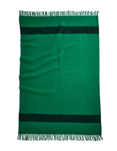 HudsonS Bay Company Caribou Throw - Green-GREEN-One Size