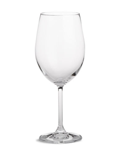 Glucksteinhome Catering  Set Of 12 Bordeaux Glass-CLEAR-One Size