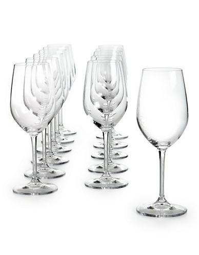 Glucksteinhome Catering Set Of 12 Chardonnay Glass-CLEAR-One Size