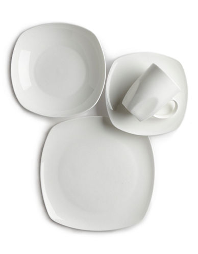Glucksteinhome Quincy Square Soup Bowl-WHITE-One Size