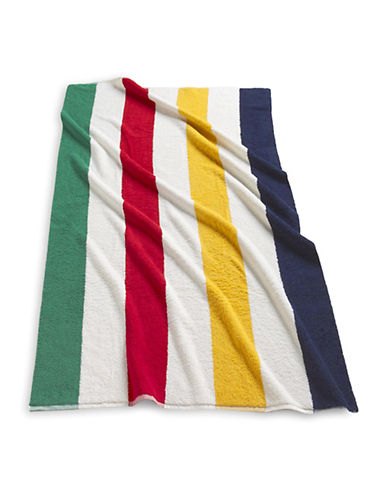 HudsonS Bay Company Luxe Beach Towel - Cabana-MULTISTRIPE-70 x 40