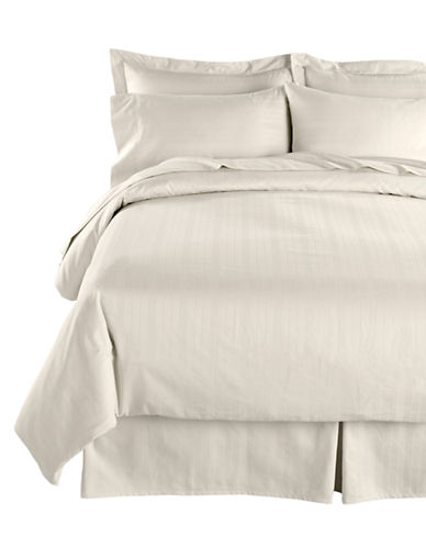 Distinctly Home Four-Piece 520 Thread-Count Stripe Sheet Set-PRISTINE-Queen