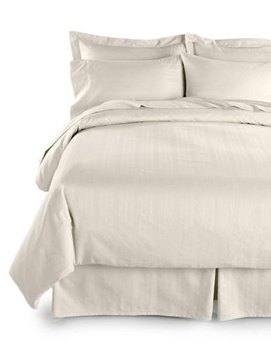 Distinctly Home Two-Piece 520 Thread-Count Dobby Stripe Pillowcases-PRISTINE-Standard