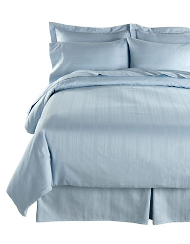 Distinctly Home Four-Piece 520 Thread-Count Stripe Sheet Set-BALLARD BLUE-King