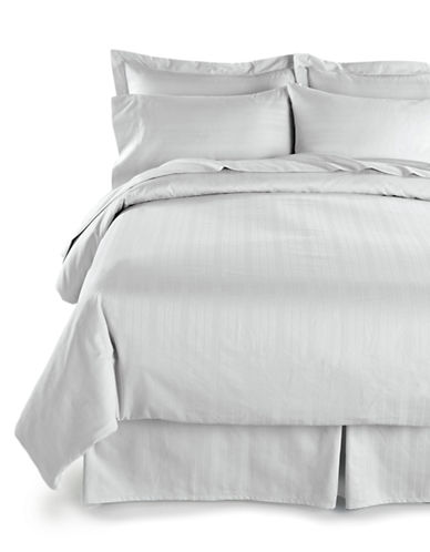 Distinctly Home Spectrum 520 Thread-Count Three-Piece Duvet Cover Set-WHITE-King