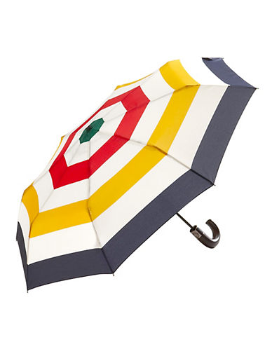 HudsonS Bay Company Compact Umbrella-MULTISTRIPE-One Size