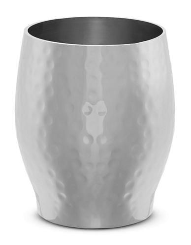 Glucksteinhome Clara Antiquity Hammered Metal Tumbler-SILVER-One Size