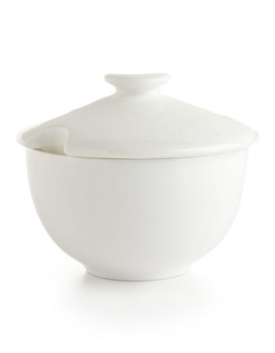 Glucksteinhome Quincy Round Sugar Bowl-WHITE-One Size