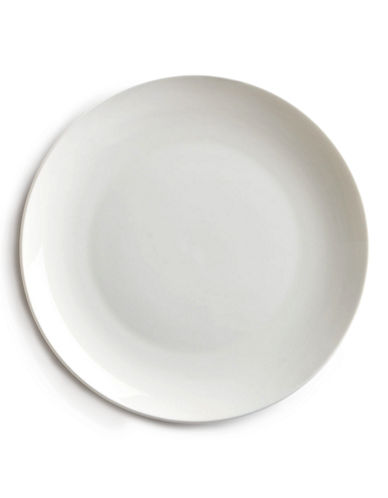 Glucksteinhome Quincy Coupe Salad Plate-WHITE-One Size