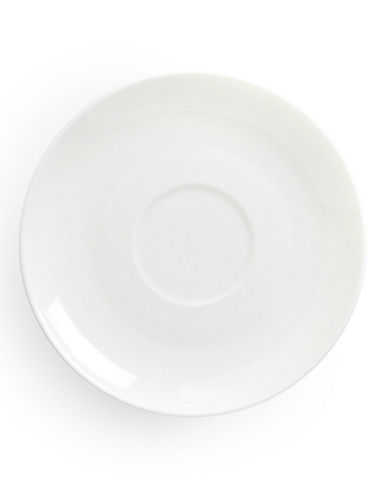 Glucksteinhome Quincy Round Saucer-WHITE-One Size