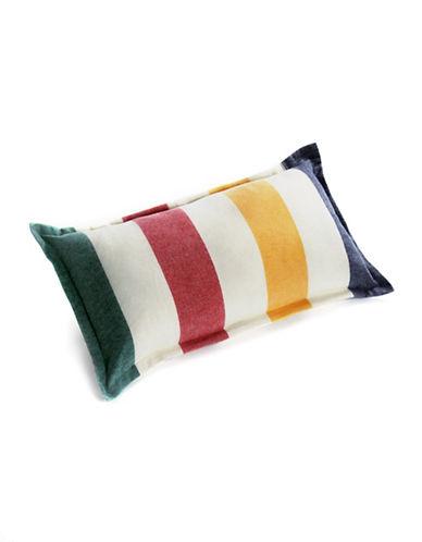 HudsonS Bay Company Multi Stripe Decorative Cushion-MULTI-One Size