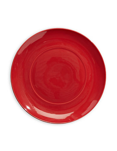 Distinctly Home Rio Stoneware Dinner Plate-RED-One Size