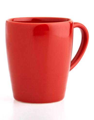 Distinctly Home Rio Stoneware Mug-RED-One Size