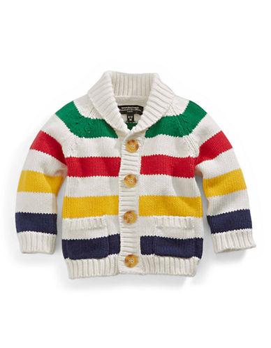 HudsonS Bay Company Baby Knit Cardigan-MULTI STRIPE-0-3 Months