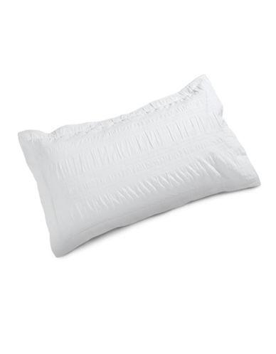 Distinctly Home Romantique Cotton King Sham-WHITE-King