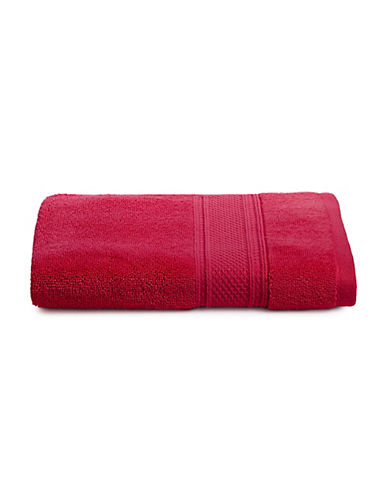 Distinctly Home Soft Luxury Cotton Hand Towel-RED-Hand Towel