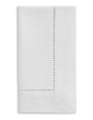 Distinctly Home Hemstitched Napkin-WHITE-One Size