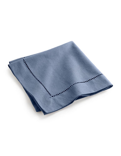 Distinctly Home Hemstitched Napkin-BLUE-One Size