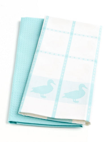 Distinctly home Yard Dyed Kitchen Towels blue Kitchen T
