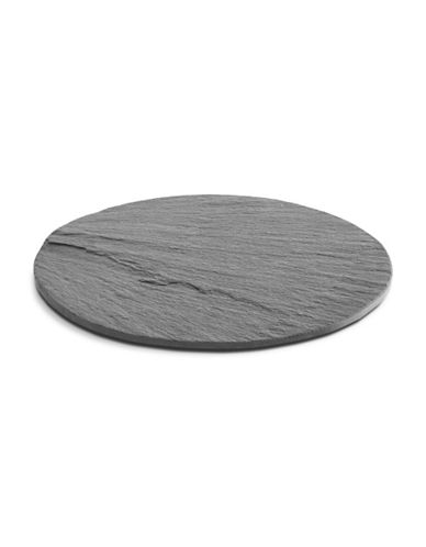 Distinctly Home Round Slate Cheese Board-SLATE-One Size