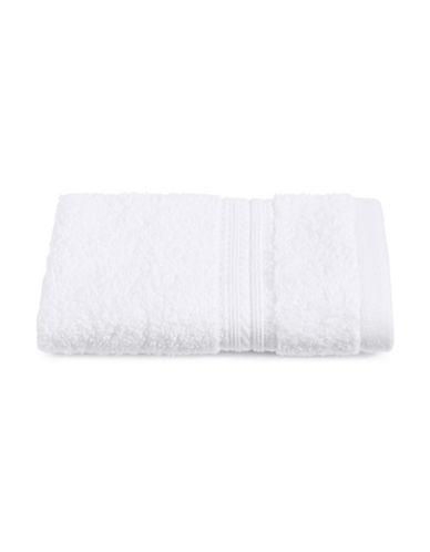 Home Studio Twin Border Cotton Washcloth-WHITE-Washcloth