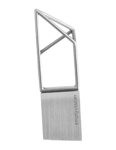 Logical Art Logical Art Empty Memory USB Sticks-STAINLESS STEEL-One Size