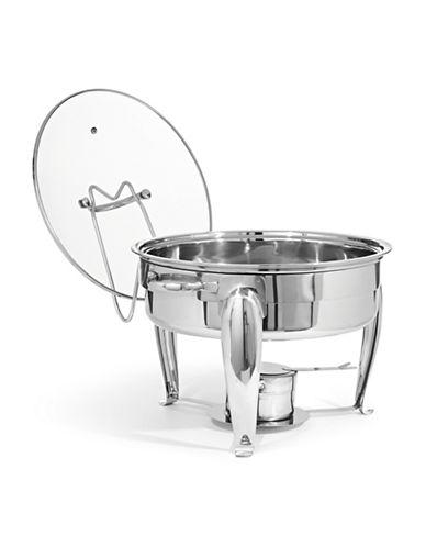 Bon Appetit 6 Quart Chafing Dish-SILVER-One Size