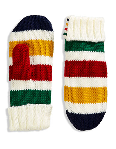 HudsonS Bay Company The Stripes Mittens - Multi Stripe-MULTI STRIPE-Large/X-Large