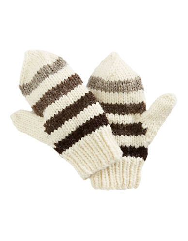 HudsonS Bay Company Hand Knit Wool Mittens-MILLENIUM-Large/X-Large