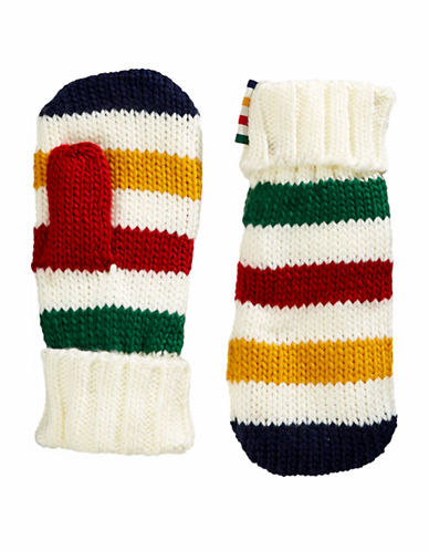 Hudson'S Bay Company Youth Mittens-MULTI STRIPE-Small