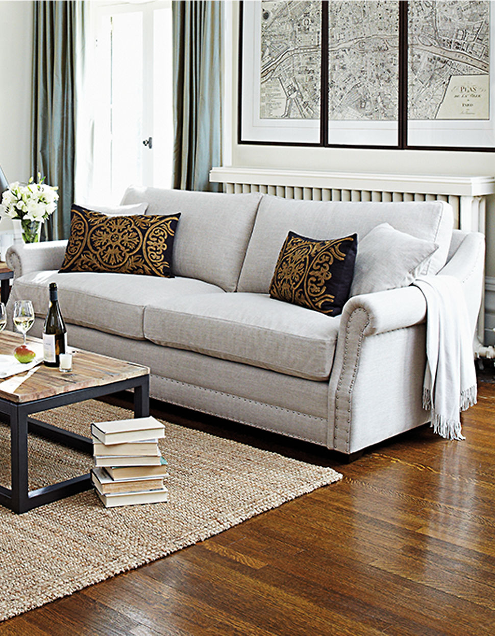 The bay sofa fascinating bay window sofa also gray couch for Window sofa furniture