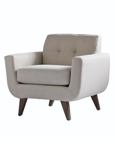 Attractive DISTINCTLY HOME Hudson Chair With Track Arm And Tufted Back