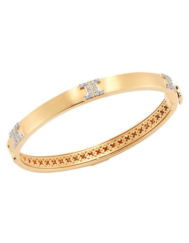 Ivanka Trump Metropolis Bracelet. 18kt Yellow Gold-DIAMOND-One Size