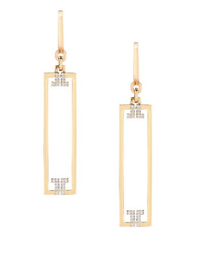 Ivanka Trump Metropolis Earrings 18kt Yellow Gold-DIAMOND-One Size