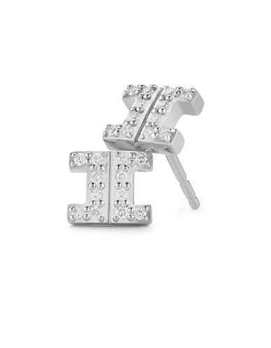 Ivanka Trump Metropolis Earrings 18kt White Gold-SILVER-One Size