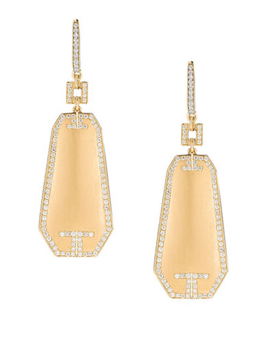 Ivanka Trump Metropolis Earrings 18kt Yellow Gold-DIAMOND-One Size
