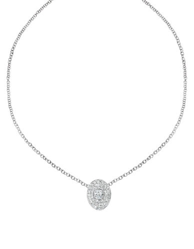 Ivanka Trump Signature Necklace. 18kt White Gold-DIAMOND-One Size