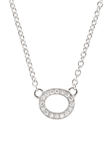 Ivanka Trump Signature Necklace 18kt White Gold-DIAMOND-One Size