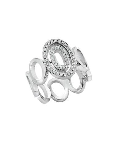 Ivanka Trump Signature Ring. 18kt White Gold-DIAMOND-6