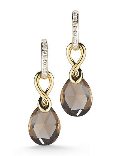 Ivanka Trump Aberdeen Earrings 18kt Yellow Gold-TOPAZ-One Size