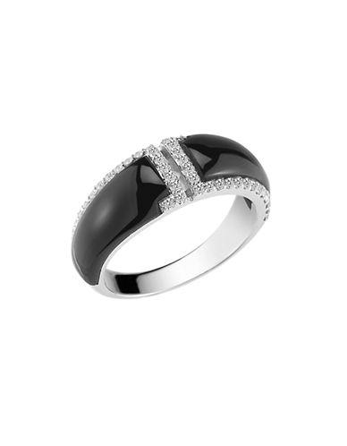 Ivanka Trump Toulouse Onyx and Diamond Ring-ONYX-6