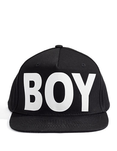 Boy London Boy Cap-BLACK-One Size
