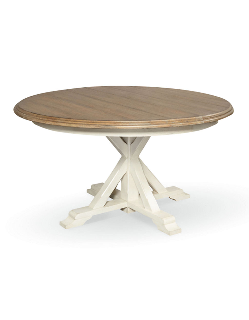 chelsea two tone round dining table round pedestal kitchen table
